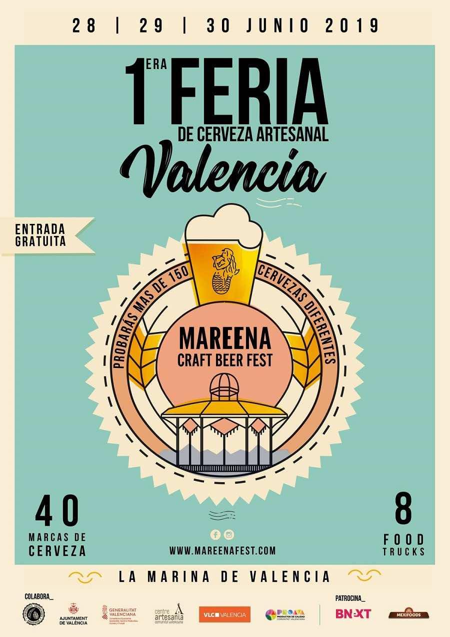 MAREENA CRAFT BEER FEST LLEGA A VALENCIA