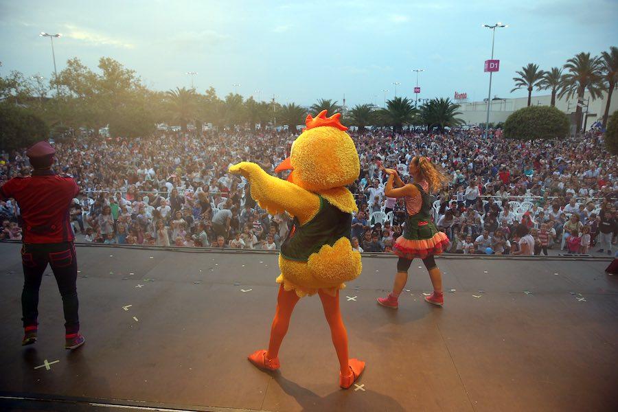 El grupo musical y teatral hará las delicias de los más pequeños el próximo viernes, 28 de junio a las 19:00h en el centro comercial Bonaire.