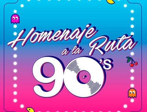 Un piromusical multimedia de la fiesta '90s Homenaje a la Ruta'