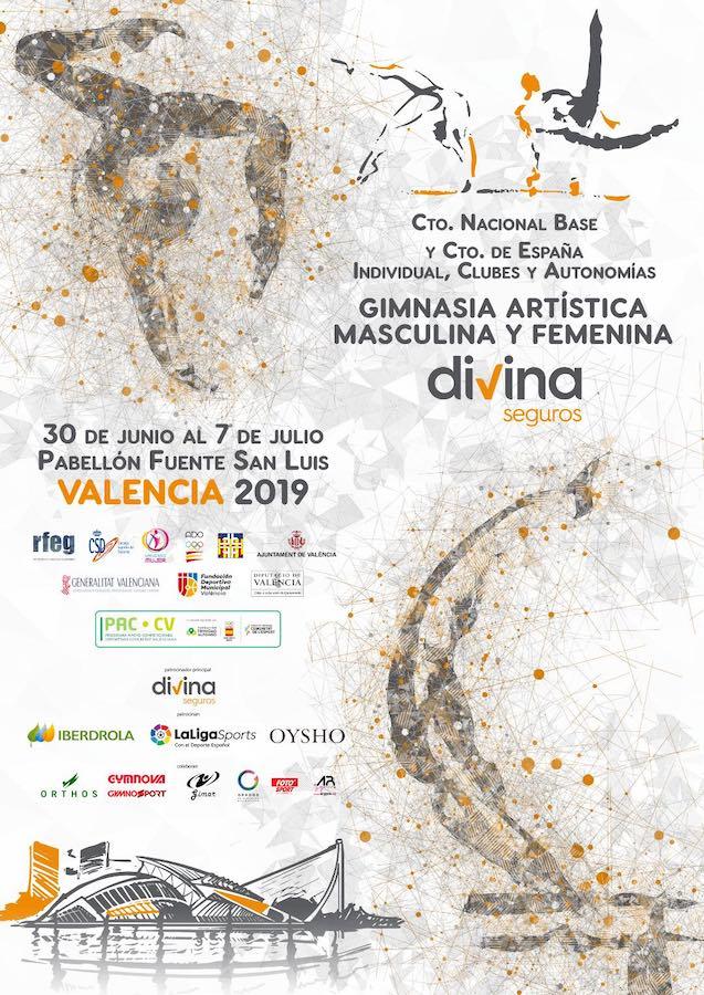 Campeonato de Gimnasia Artística en Valencia
