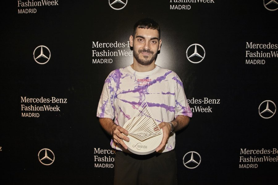 Domingo Rodríguez gana la 14ª edición de Mercedes-Benz Fashion Talent