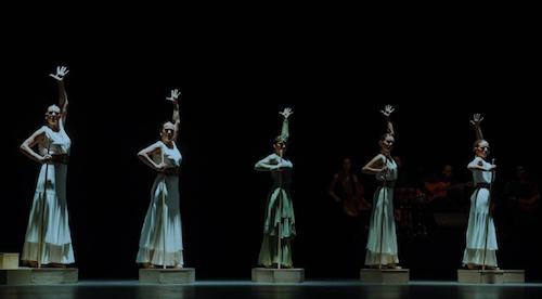 """Del 4 al 14 de julioelTeatre Taliade Valencia se llenará de arte flamenco y esencia mediterránea con el espectáculo""""RELIEVES""""de la compañíaMarea Danza."""