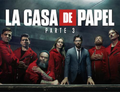 EL REGRESO Y PRE-ESTRENO DE LA CASA DE PAPEL