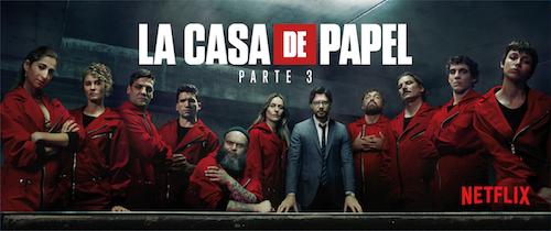 El esperado regreso de 'La casa de papel' se celebrará en once ciudades españolas. Un día antes de su estreno en Netflix, los dos primeros episodios de la tercera parte llegarán a once salas de cine en homenaje a todos los fans de la serie.