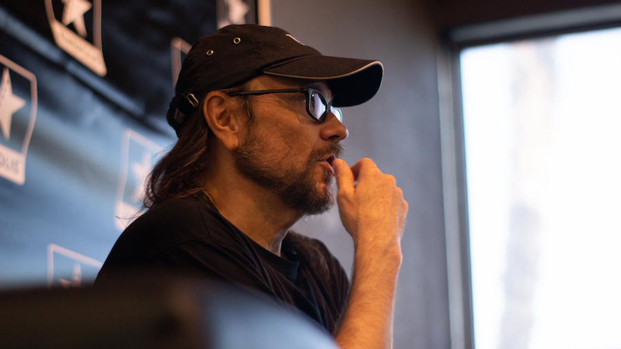 Santiago Segura presentó ayer en Valencia su última película, Padre no hay más que uno, que llega a los cines el 2 de agosto.