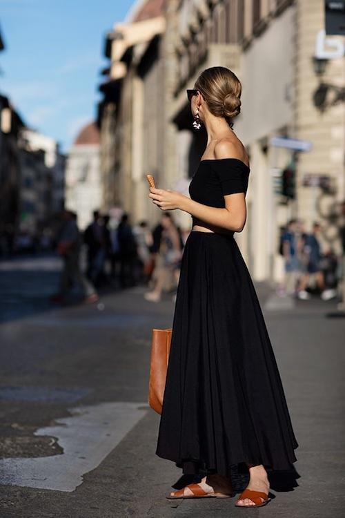 ¿Te encanta el color negro pero no te atreves a ponértelo en verano? Estas prendas ligeras y fresquitas son perfectas para afrontar los meses más calurosos.