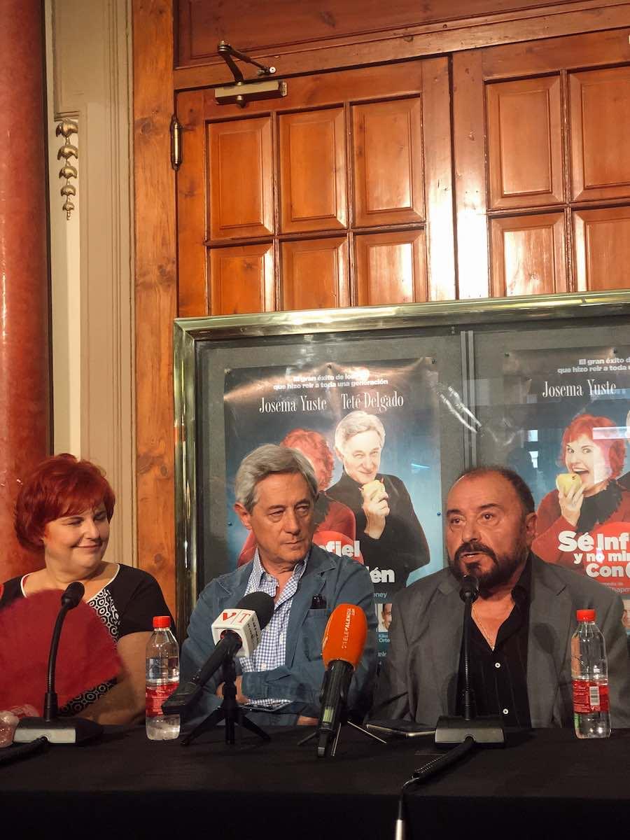 La comedia que hizo reír a toda una generación llega del 4 al 14 de julioalTeatro Olympiaen una nueva versión y dirección deJosema Yustey con la coordinación de Jaime Azpilicueta.