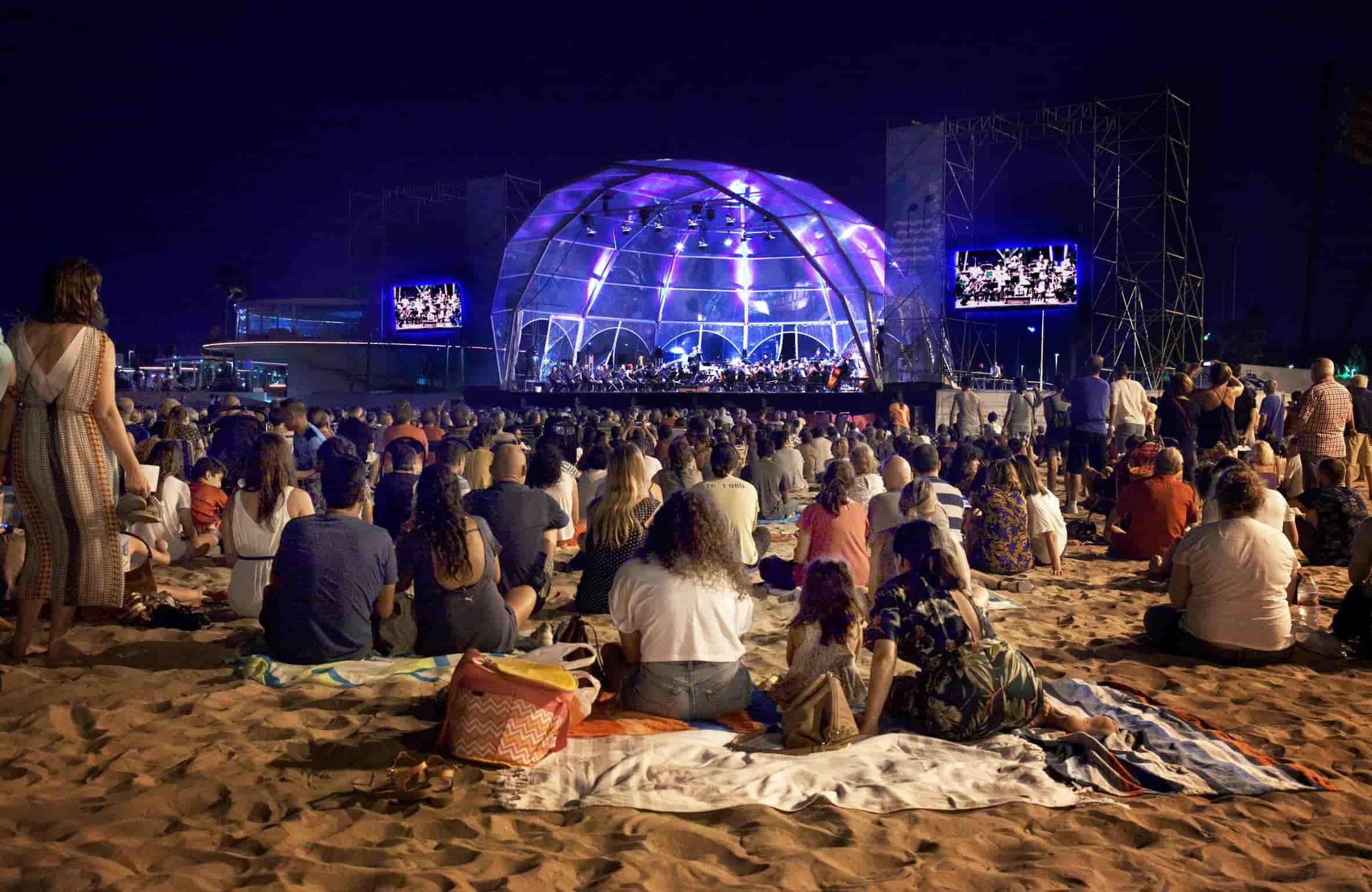 conciertos en la playa las arenas