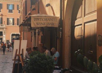 Il dolce far niente, wine bar en Roma