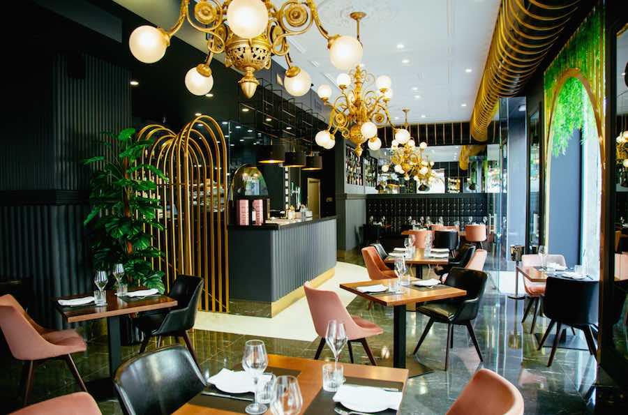Nabucco es un restaurante italiano en el centro de la ciudad para comer y cenar