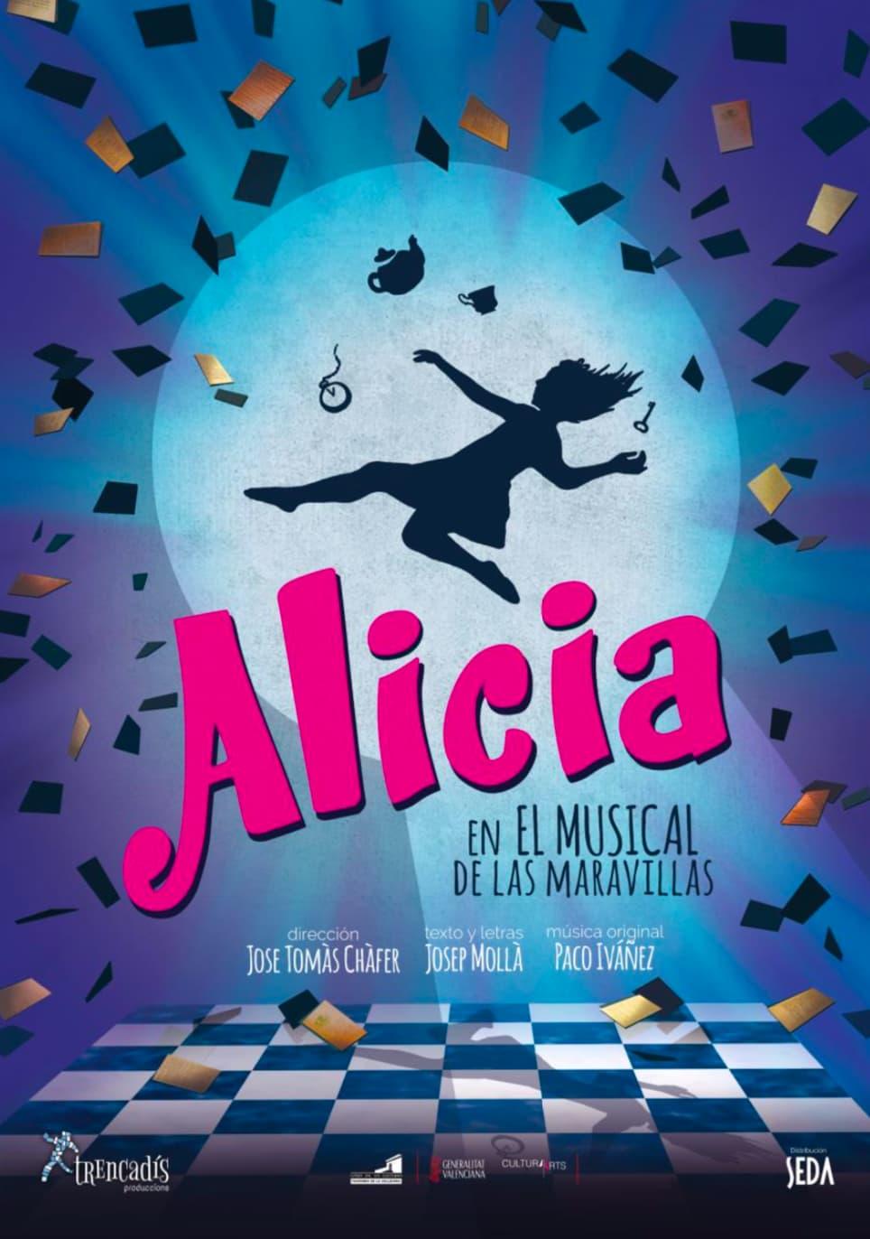 Alicia en el musical de las maravillas