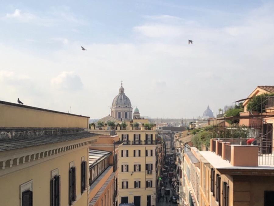 Roma con altura