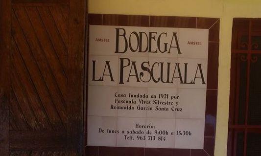 bodega La Pascuala, para almorzar una mañana ideal por Valencia