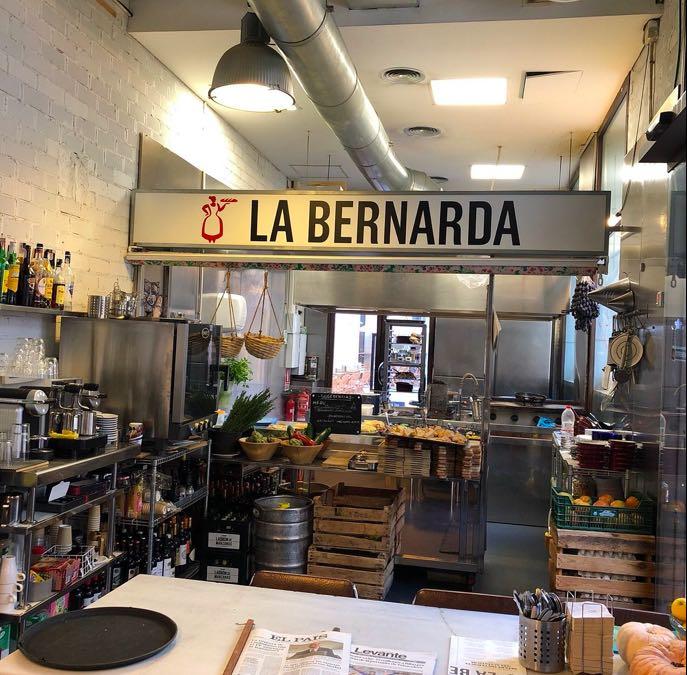 La bernarda, para almorzar en una mañana ideal por Valencia