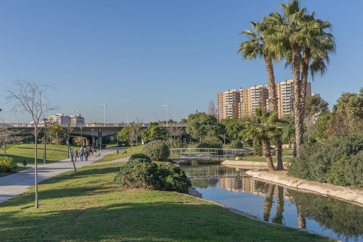 Jardín del Turia, un lugar para correr en una mañana idea por Valencia