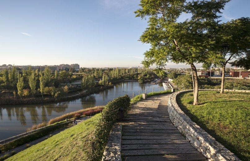 Parque de cabecera, un lugar para correr en una mañana ideal por Valencia