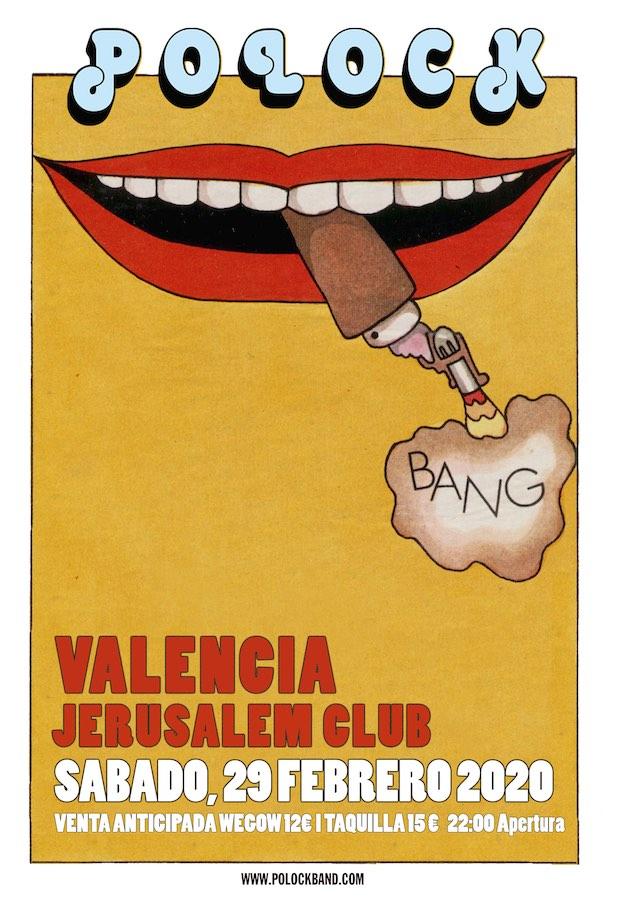 Polock, concierto en Valencia