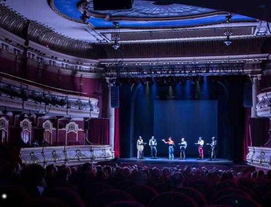 Teatro en casa, teatroteca