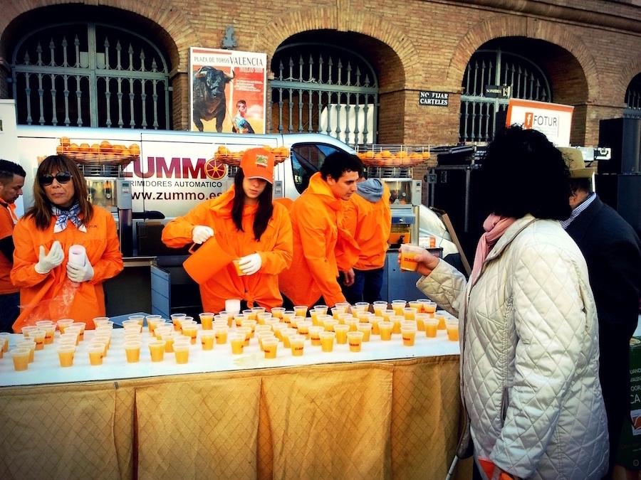 Horchatada y naranjada fallera