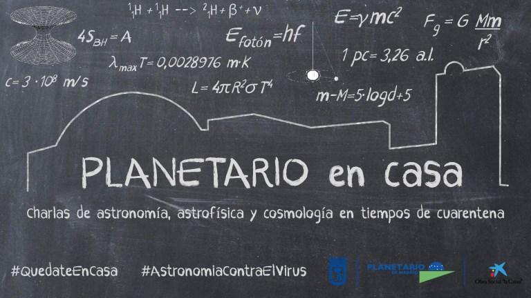 Planetario de Madrid, astronomía desde casa