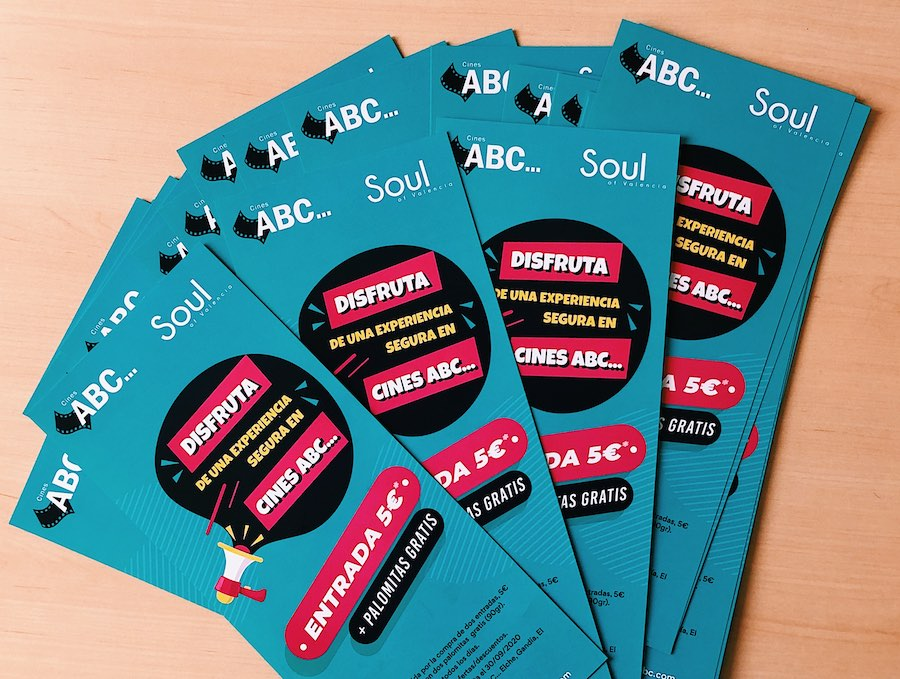 Promoción SOUL Valencia y Cines ABC