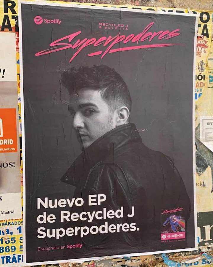 Recycled J presenta nuevo EP, Superpoderes