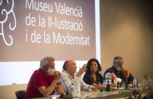Francis Montesinos en la presentación del MuVIM