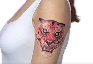 Tatuaje temporal BIC