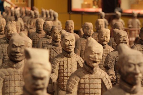 guerreros terracota xian