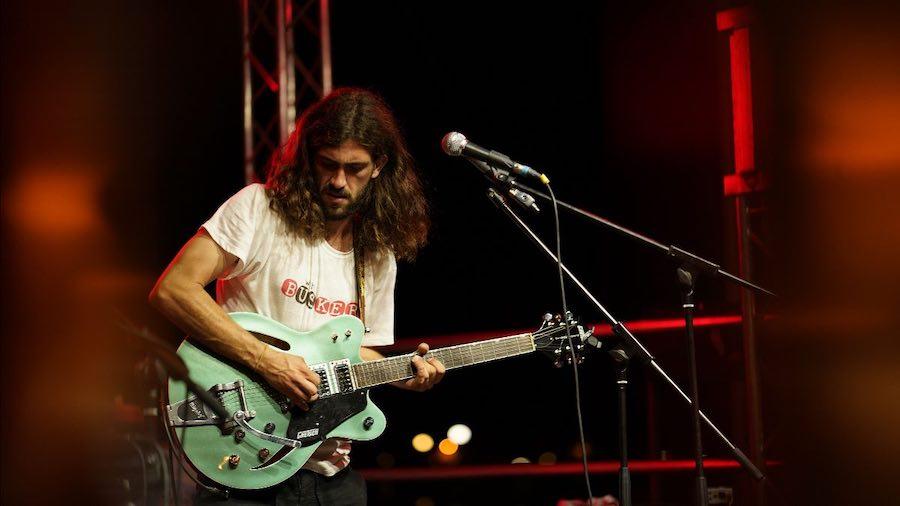 El valenciano Borja Catanesi, mejor músico callejero