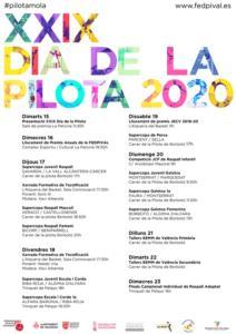 programación semana Pilota Valenciana