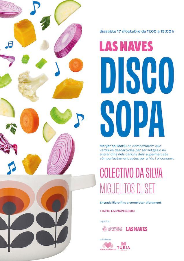 Cartel Disco Sopa