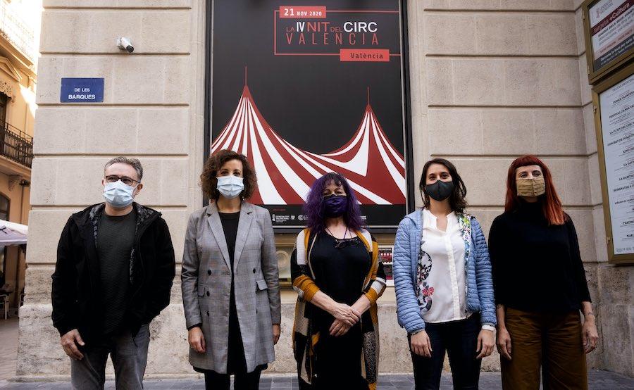Presentación de la IV Nit del circ valencià