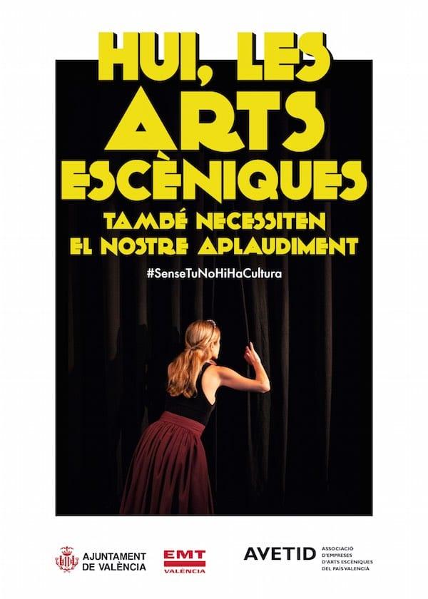 Hoy, las artes escénicas también necesitan nuestro aplauso