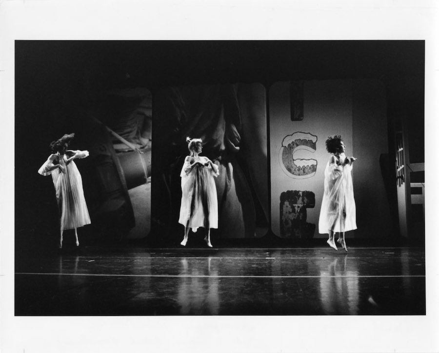 Glacial Decoy, Robert Rauschenberg, de Trisha Brown