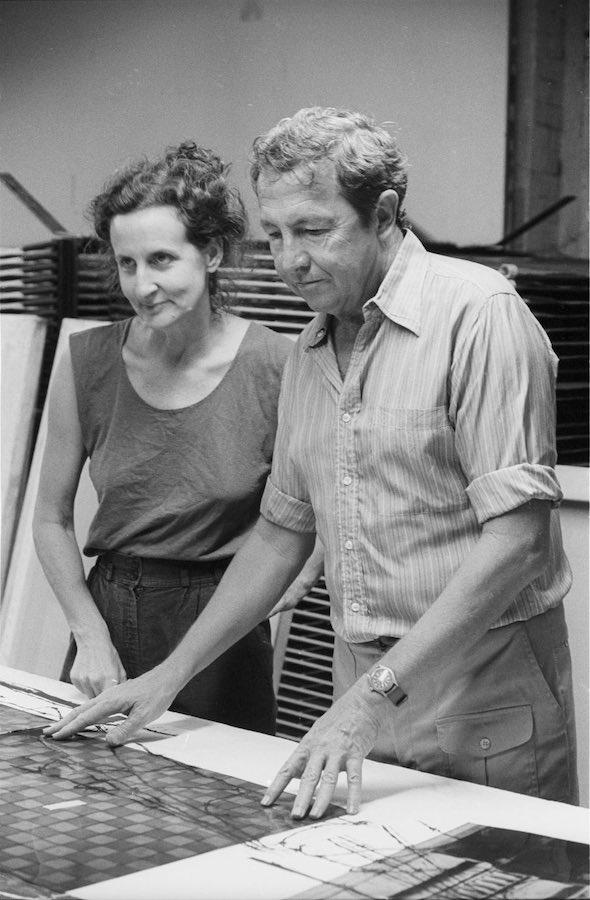 Trisha Brown y Rauschenberg, Glacial Decoy