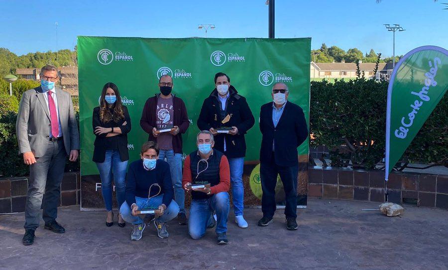 entrega premios del XII Campeonato de Tenis&Padel El Corte Inglés