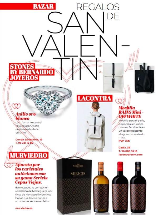 Ideas de regalos San Valentín